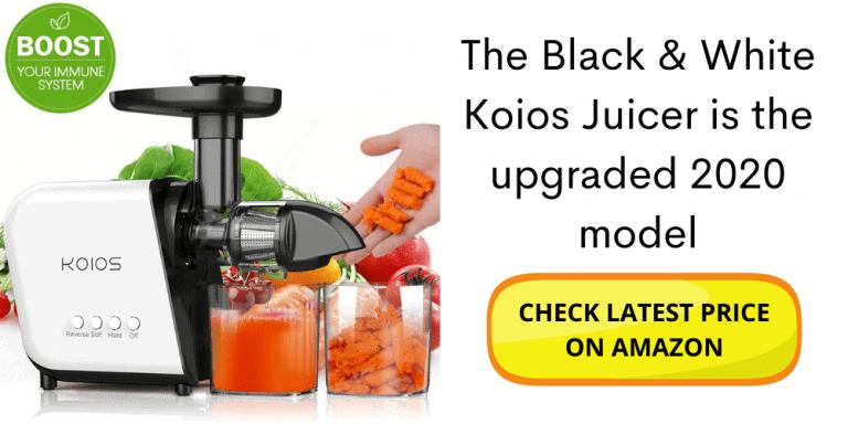 koios juicer slow masticating juicer