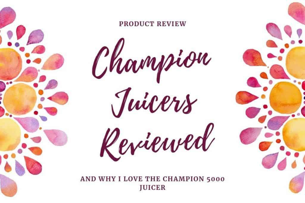 champion juicer 2000