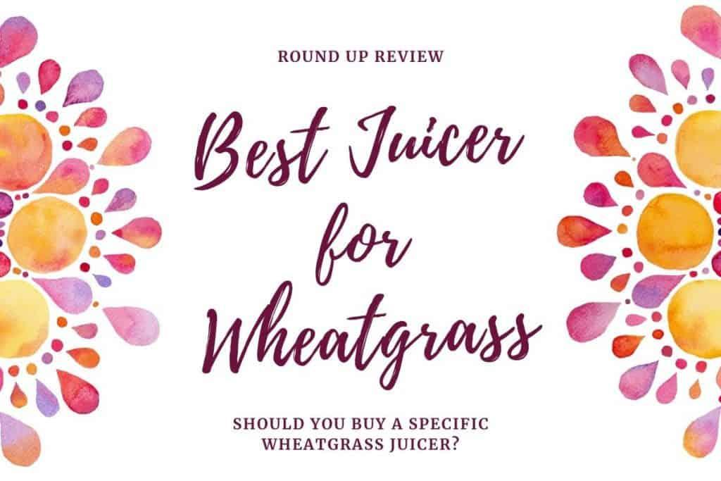 best juicer machine for wheatgrass