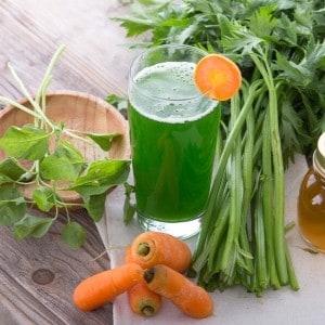 carrot celery juice