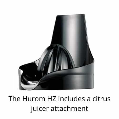 hurom citrus juicer