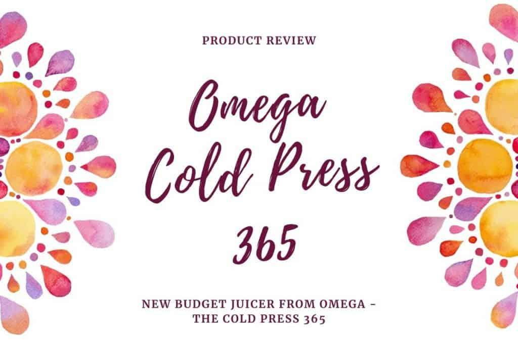 omega cold press 365