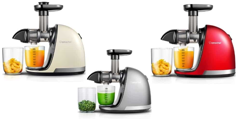amzchef slow masticating juicer review