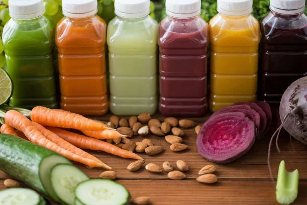 fruit and vegetable juice cleanse