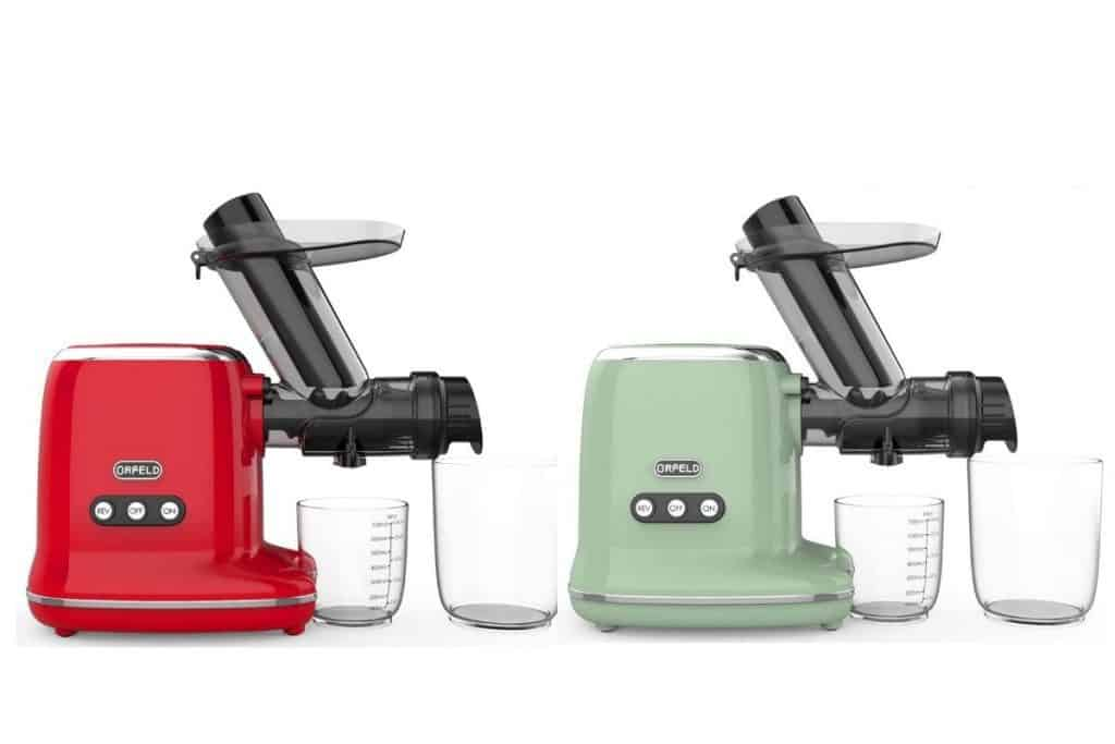 orfeld slow masticating juicer