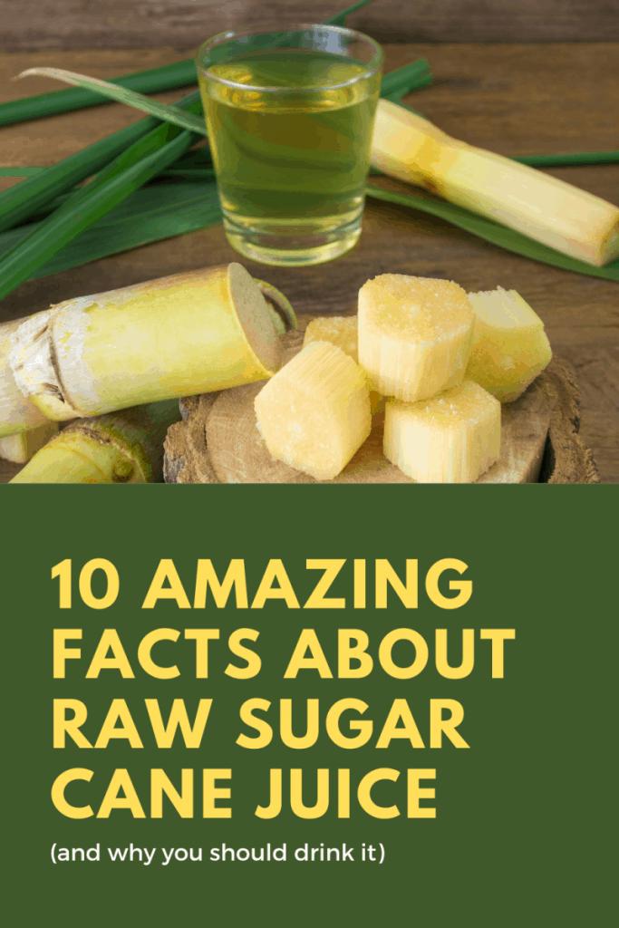 surprising facts about sugarcane juice